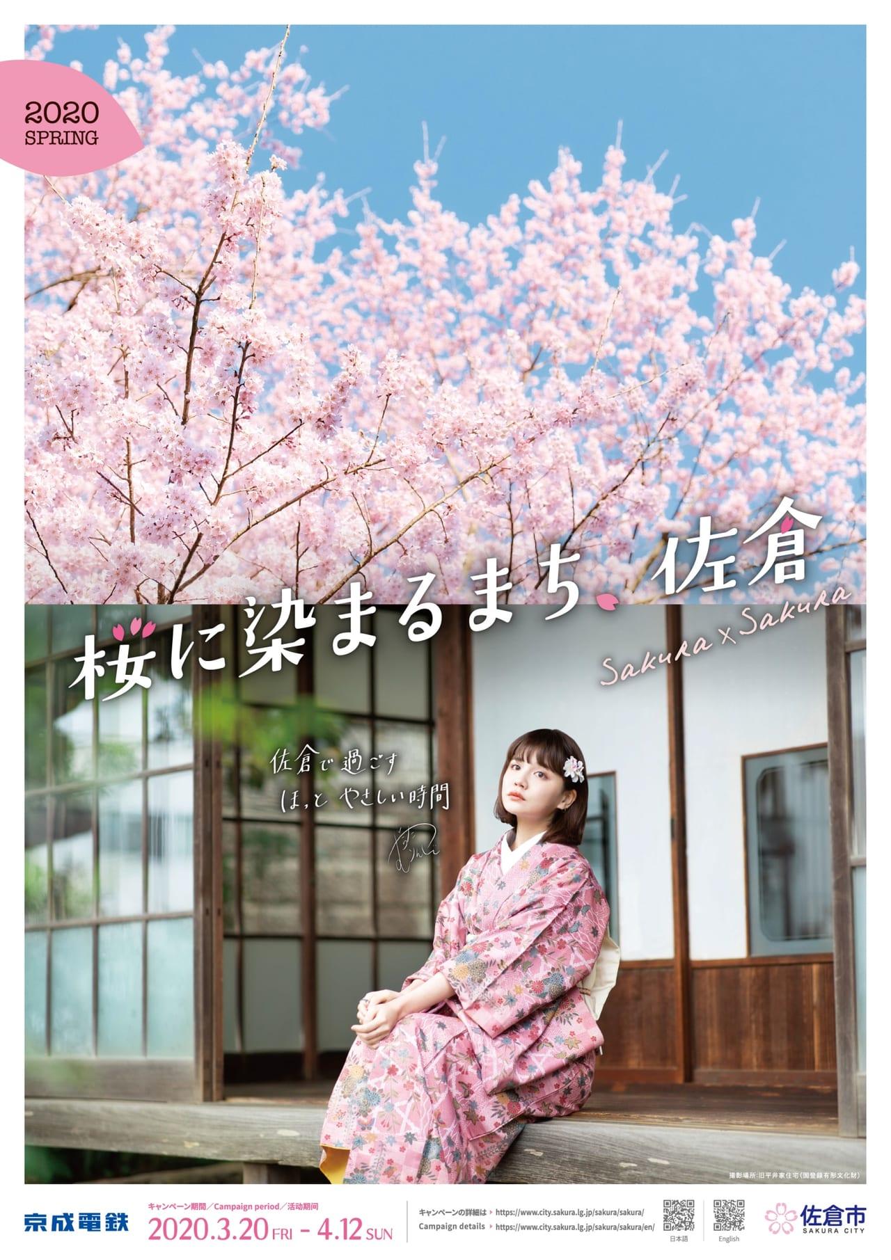 桜に染まるまちプレス画像
