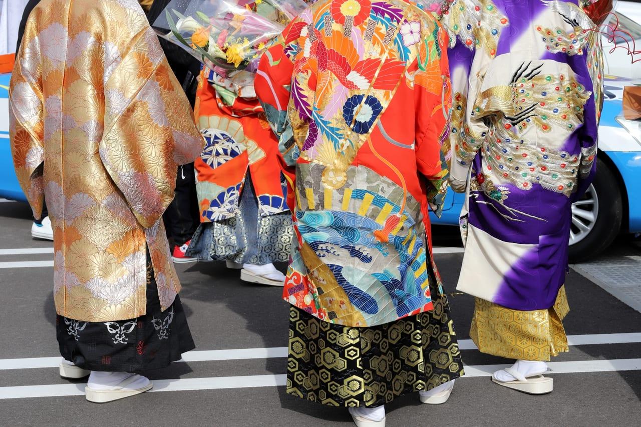 成人式 袴の男性